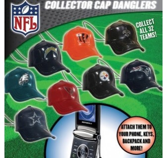 "NFL Hat Danglers 2"" Toy Capsules"