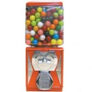 PM Elite REd/Orange All-Metal Gumball Machine